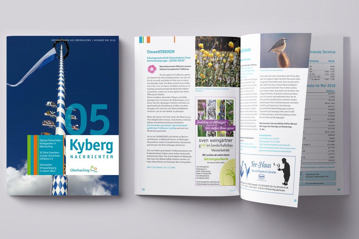 Kybergnachrichten April 2018