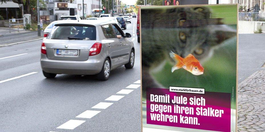 Presse Kampagne Gewaltschutz