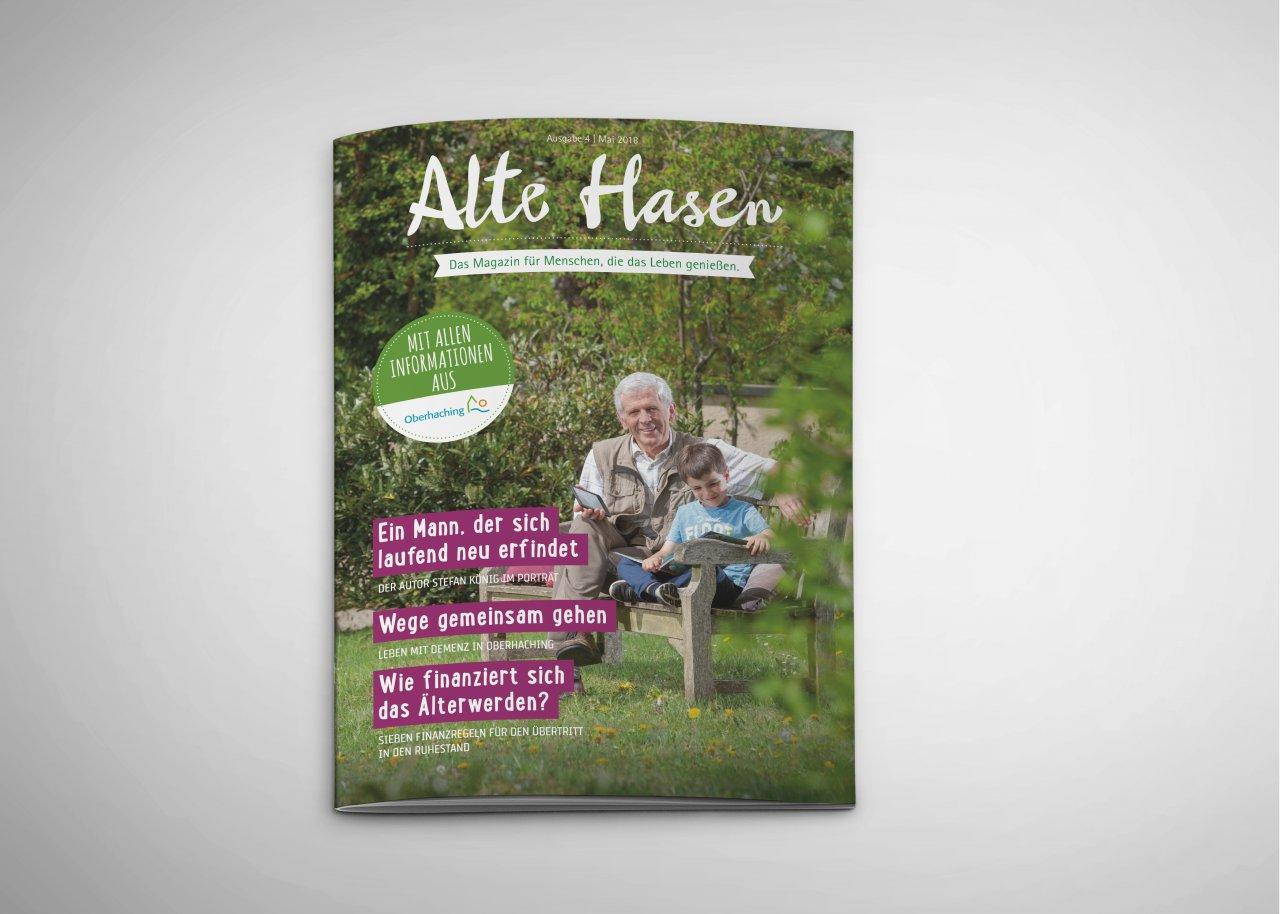 Alte Hasen - Ausgabe 4 - Mai 2018