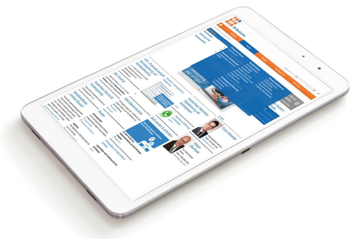 iPad Darstellung VR-Baukasten