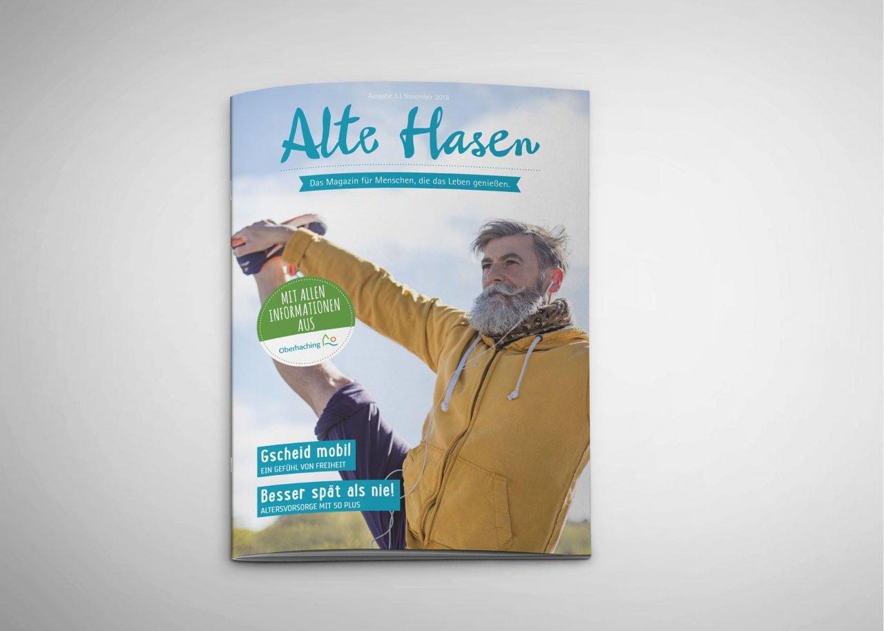 Alte Hasen - Ausgabe 5 - Mai 2018