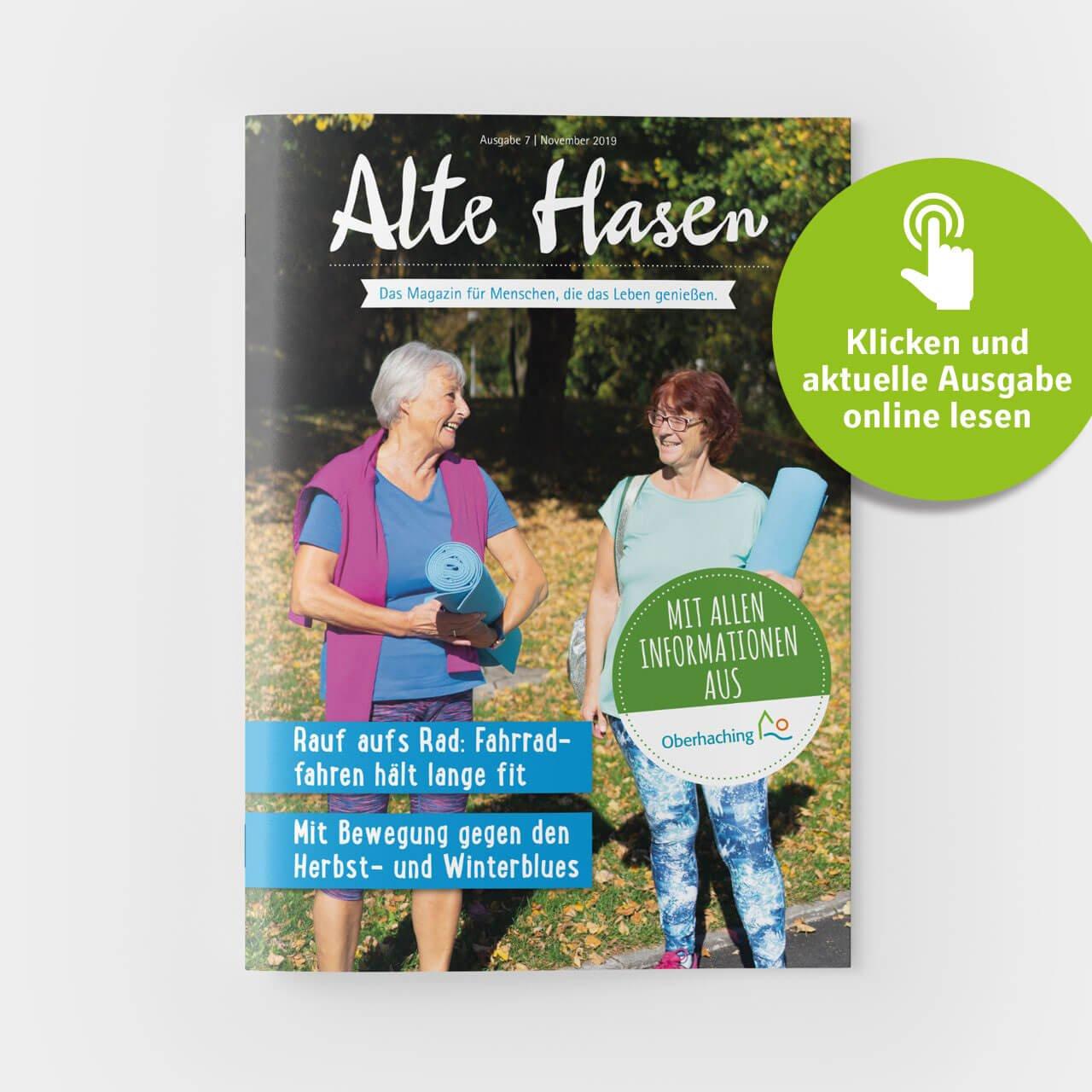 Alte Hasen - Ausgabe 7 - November 2019