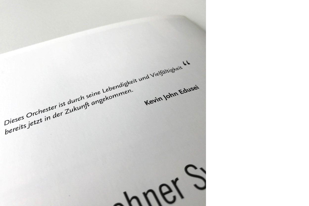 Münchner Symphoniker Notenblatt
