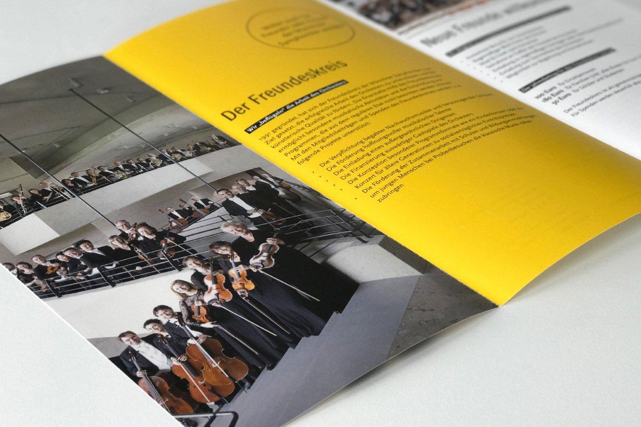 Flyer Freundeskreis Münchner Symphoniker