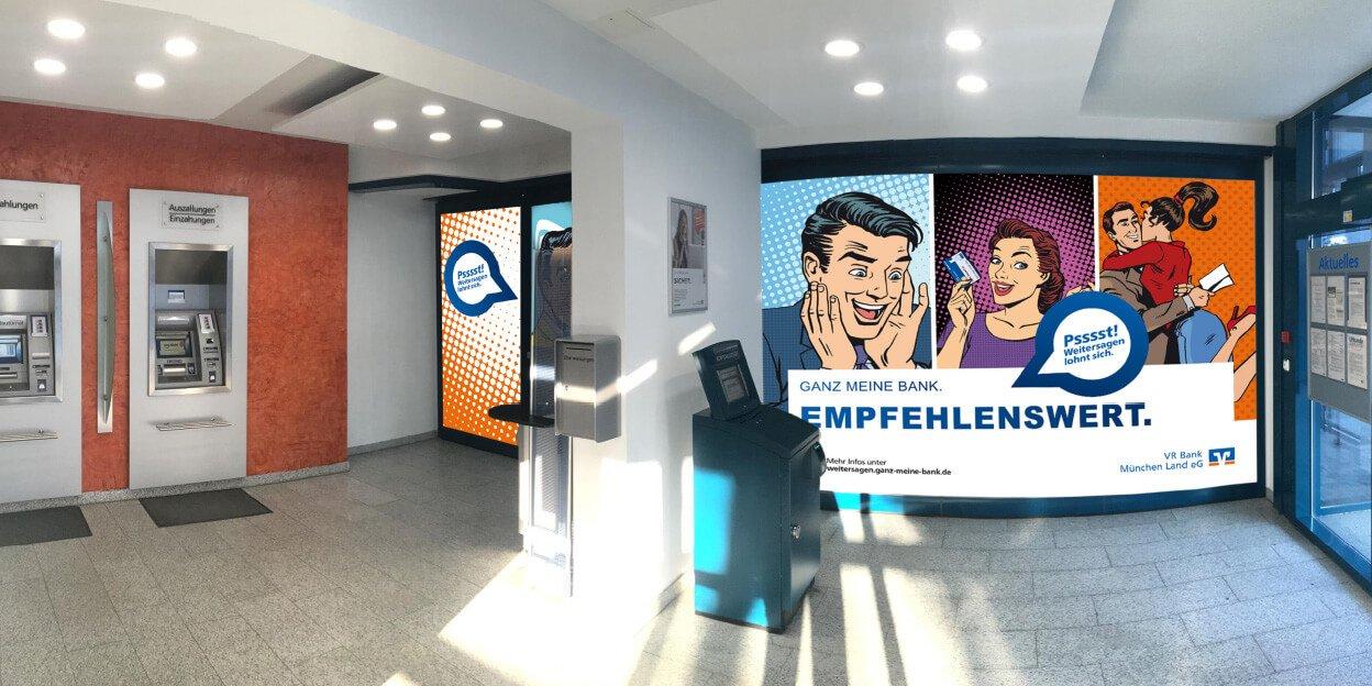 Empfehlungsmarketing VR Bank München Land