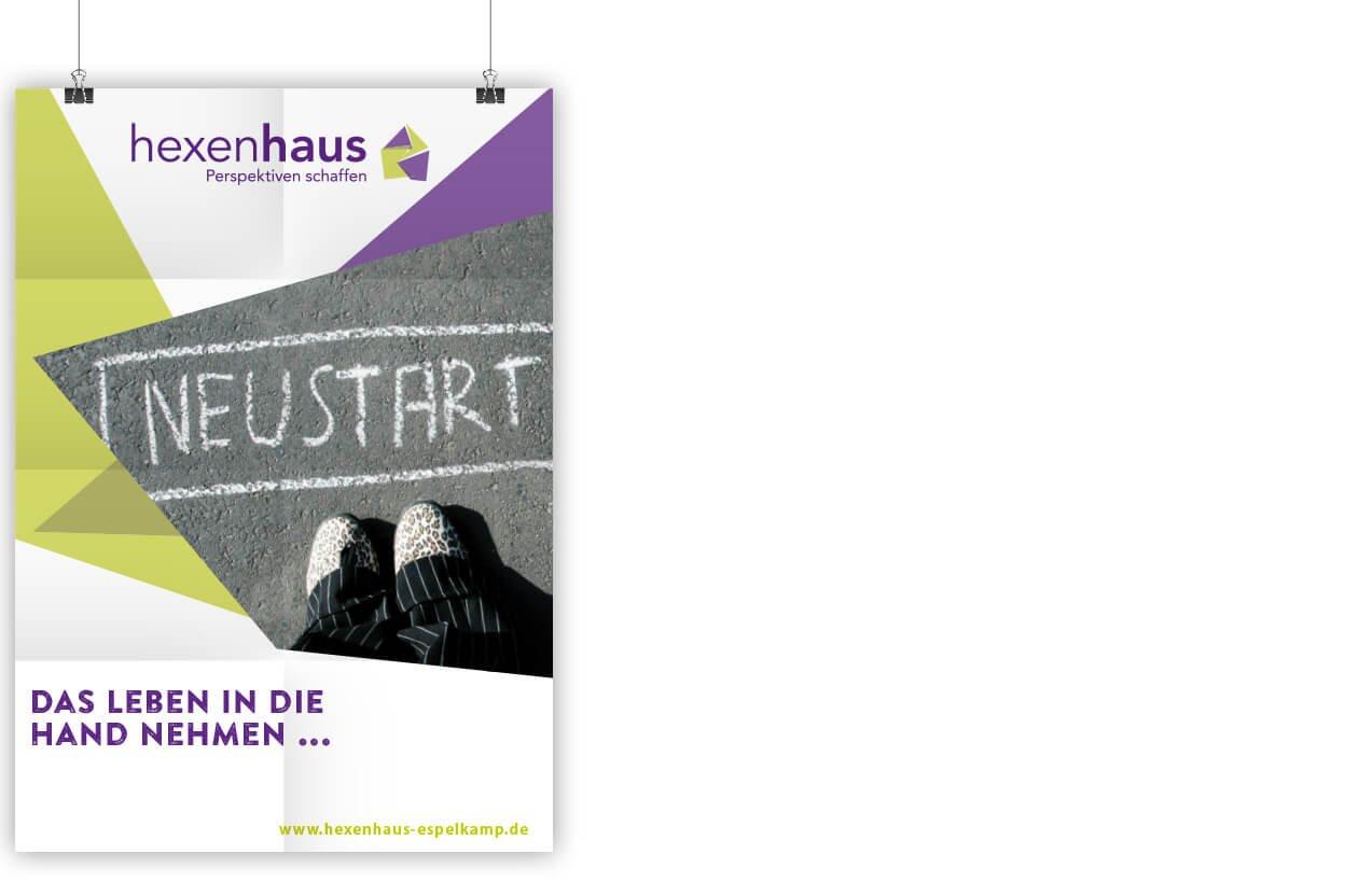 Poster Hexenhaus